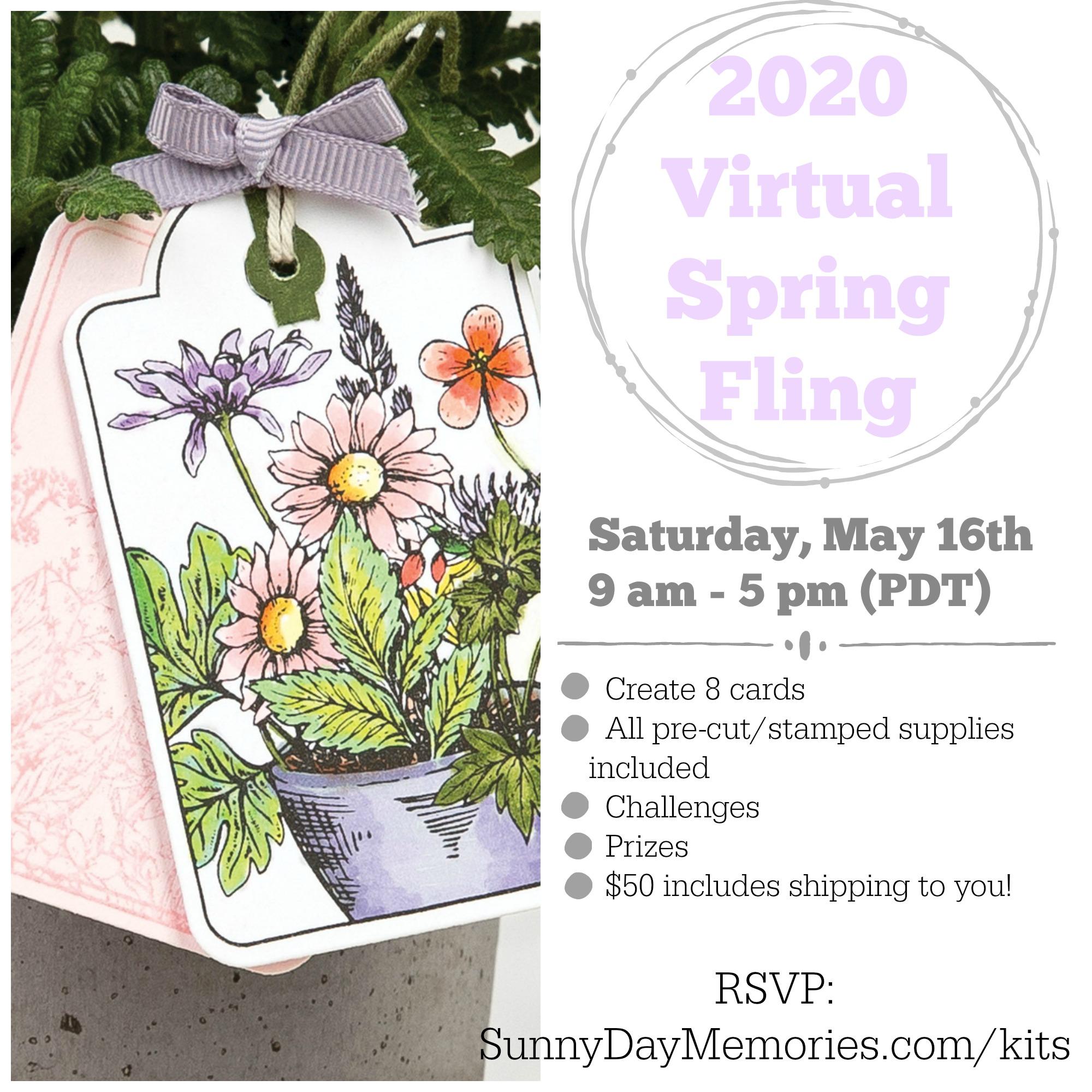 2020 Virtual Spring Fling Event