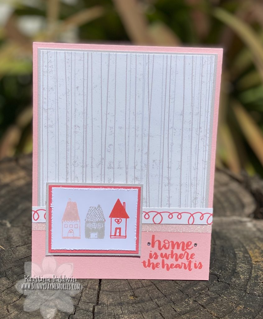 CTMH Let's Stay Home Card