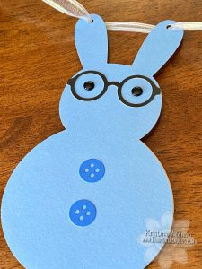 CTMH Boy Bunny Banner Piece