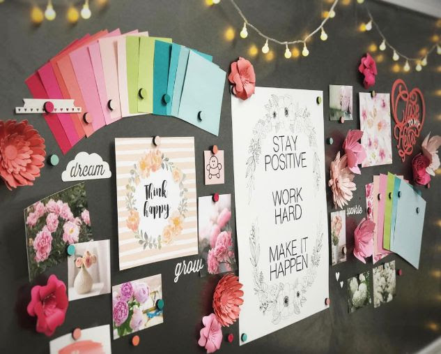 CTMH Art Studio Vision Board