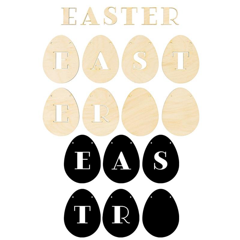 CTMH Easter Eggs Banner Kit