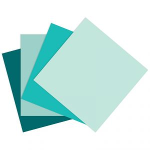 CTMH Green-Blue Cardstock Bundle