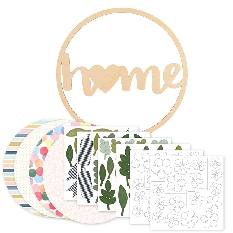 CTMH Home Wreath Kit