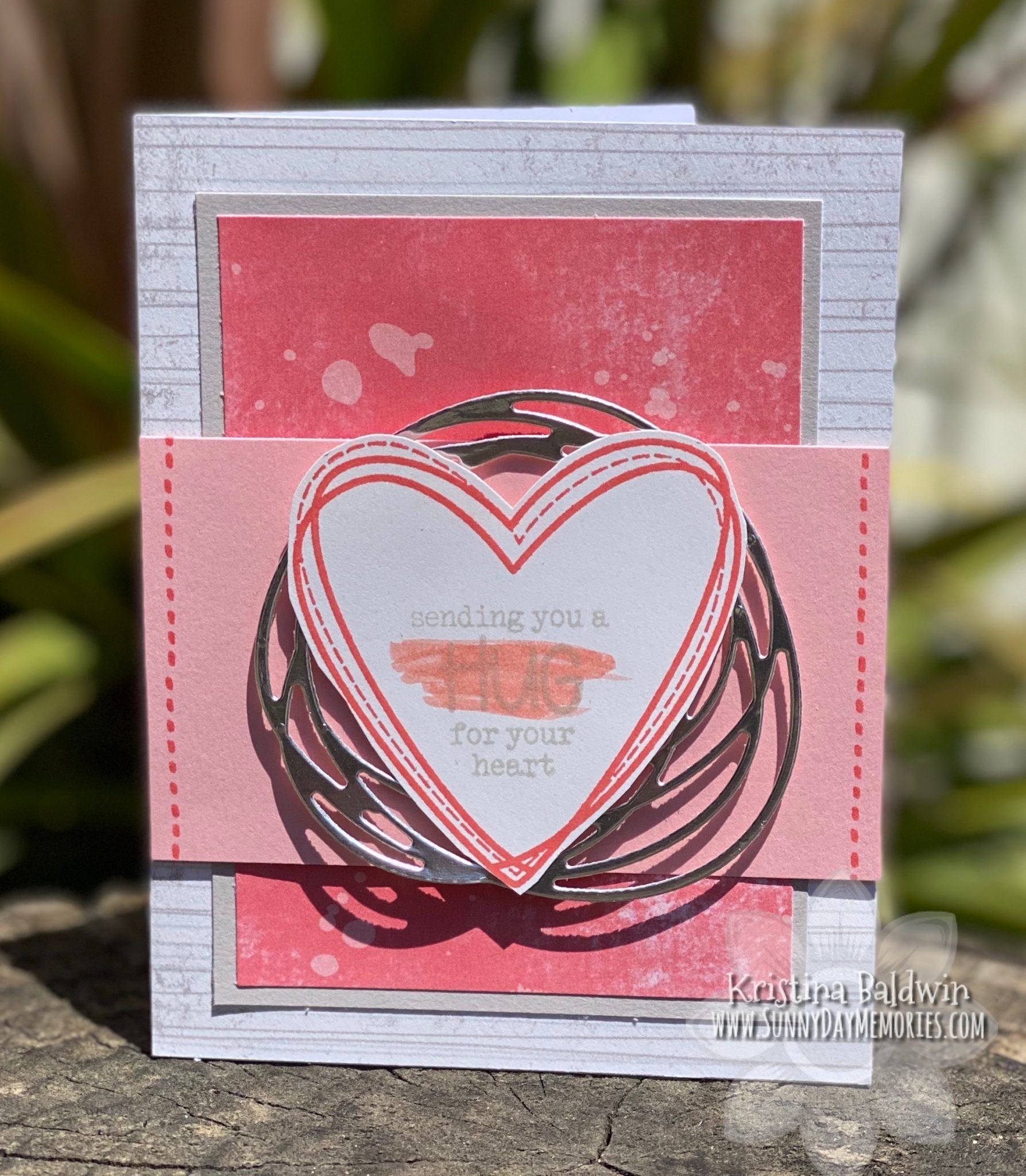 CTMH Hug for Your Heart Card
