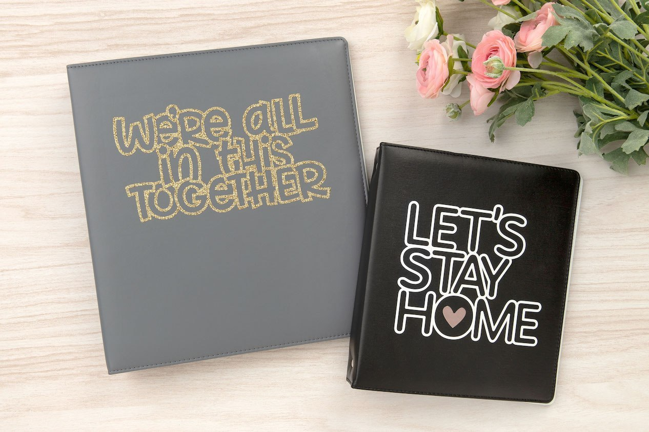 CTMH Let's Stay Home Album Covers