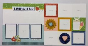 CTMH Living It Up Layout