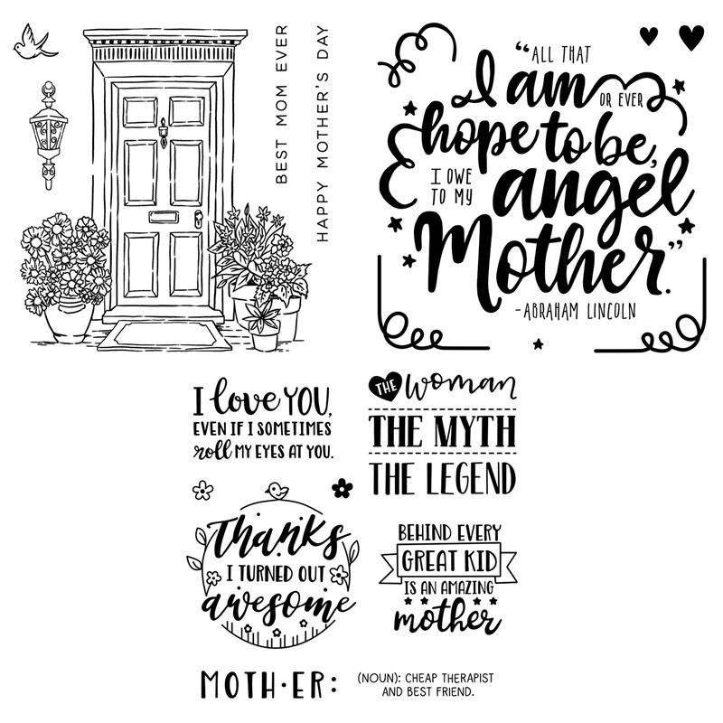 CTMH Love for Mother Stamp Bundle