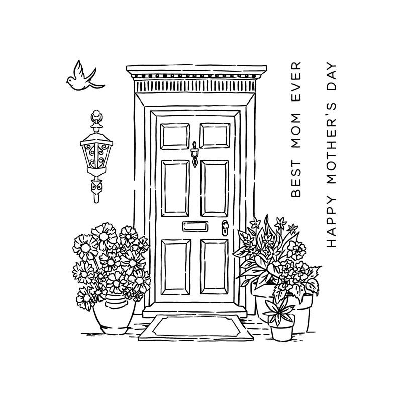 CTMH Mother's Day Door Stamp Set