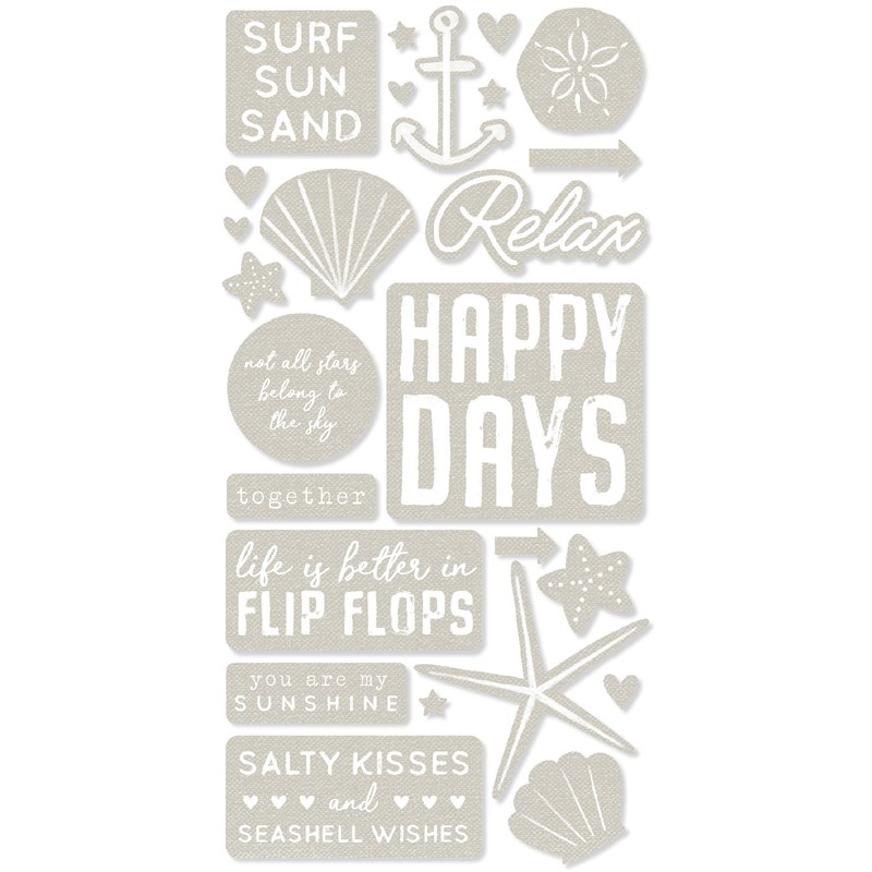 CTMH Seas the Day Die-cuts