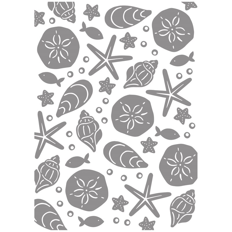 CTMH Under the Sea Embossing Folder