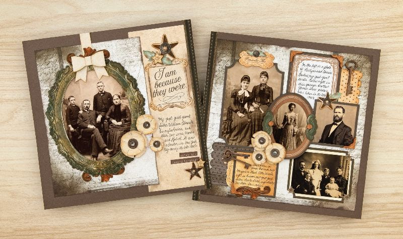 CTMH Yesterday & Today Scrapbooking Kit