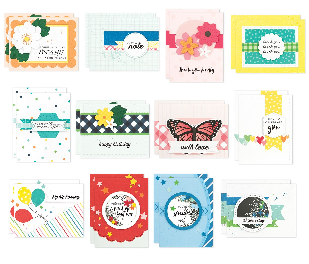 CTMH Craft With Heart May- Aug Kit Card Samples