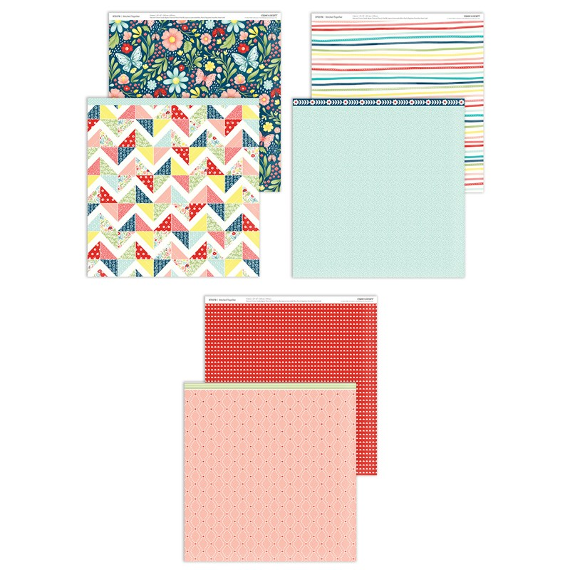 CTMH Stitched Together Paper Pack