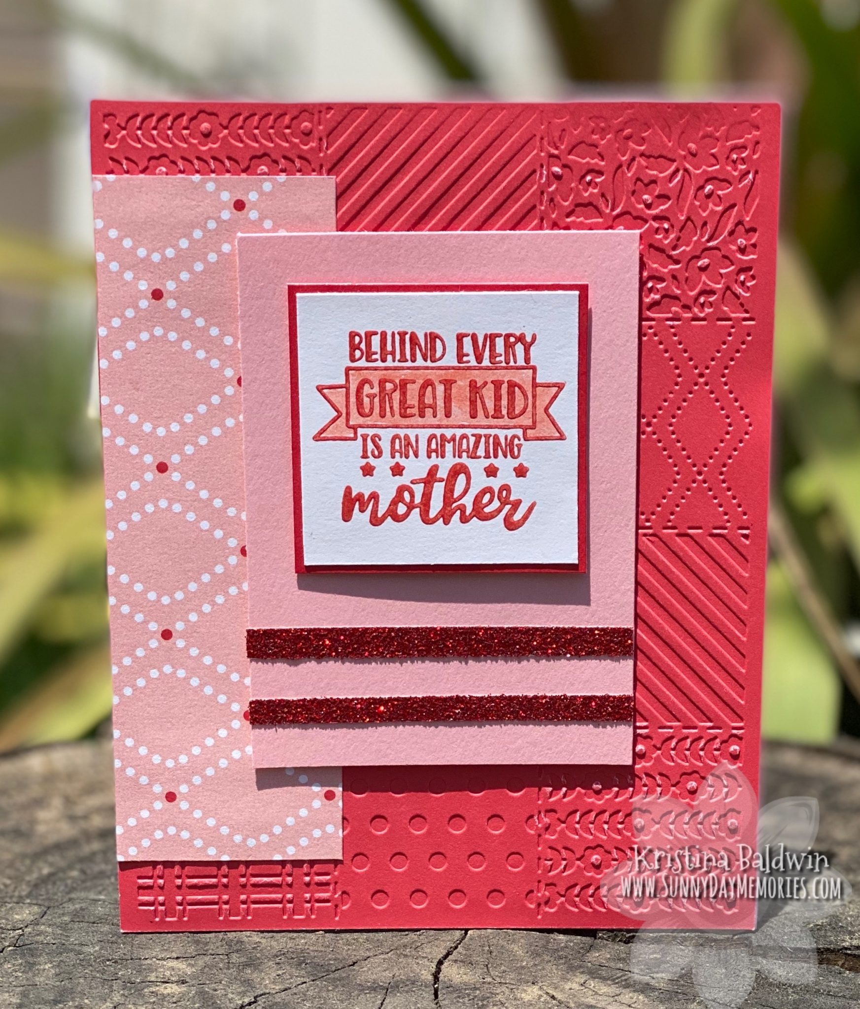 CTMH Amazing Mother Card