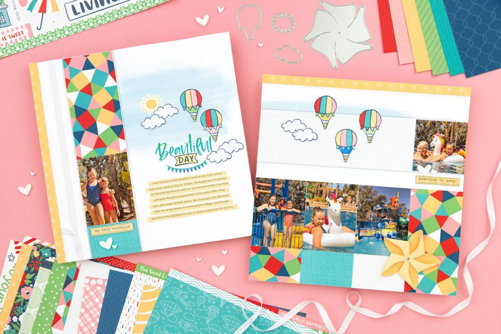 CTMH Blue Skies Layout