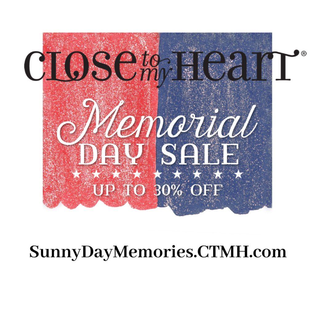 CTMH Memorial Day Flash Sale