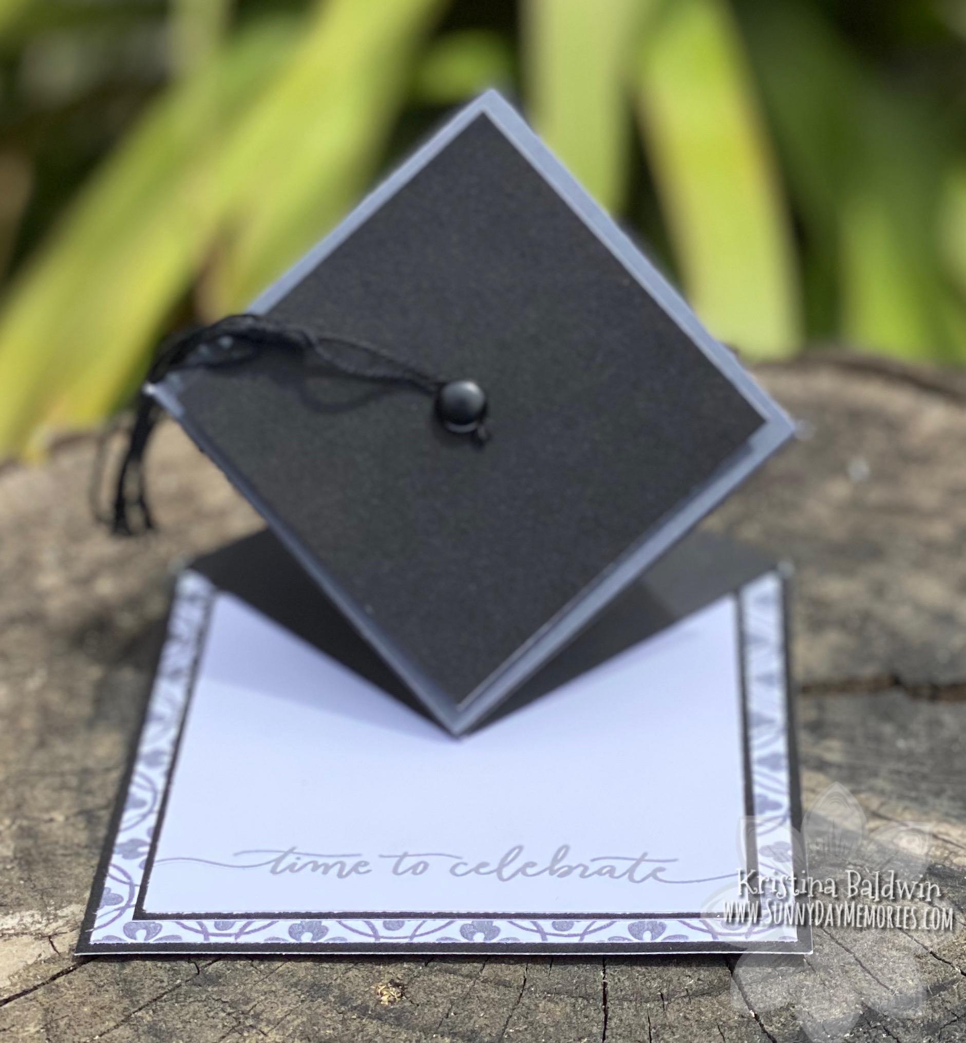 CTMH Graduation Cap Card