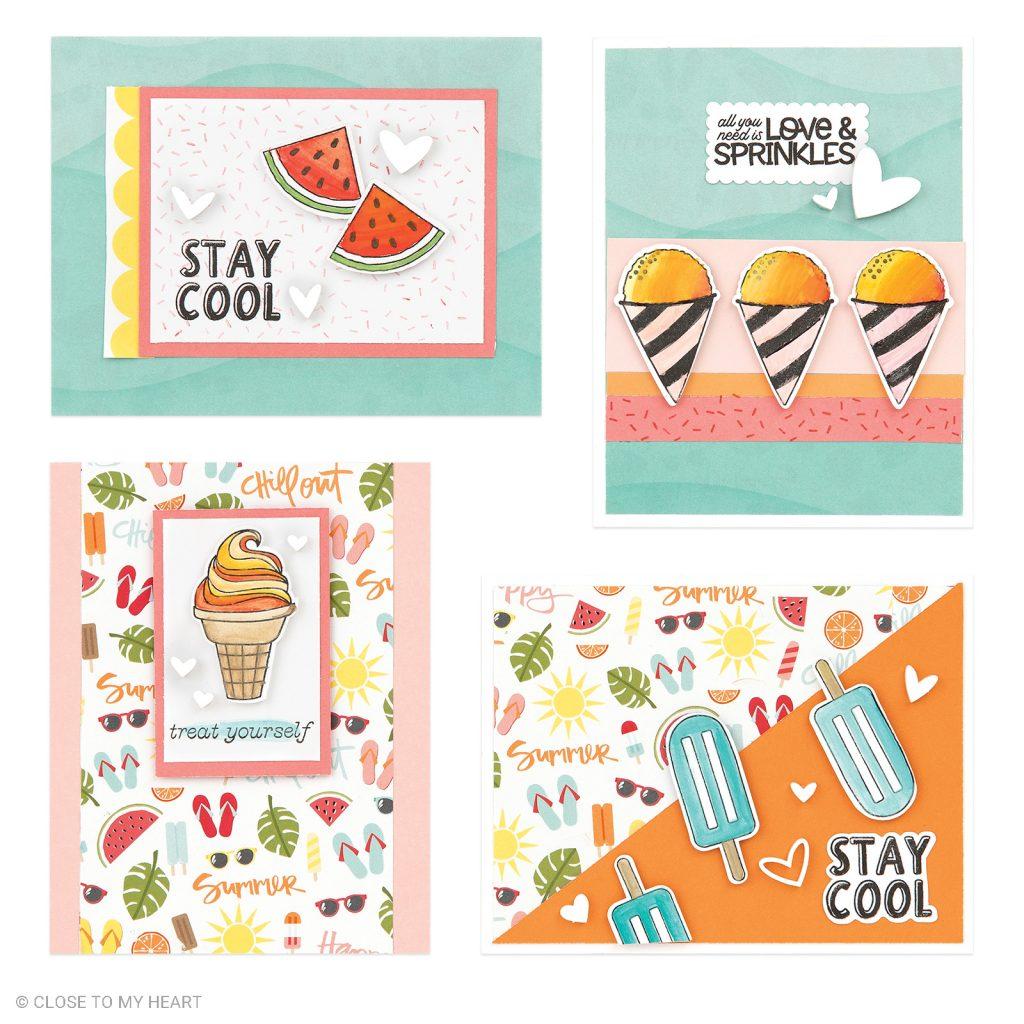 Virtual Summer Celebration Card Class + Crop