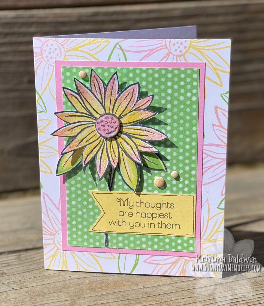 Make It Monday A Budding Friendship Handmade Card