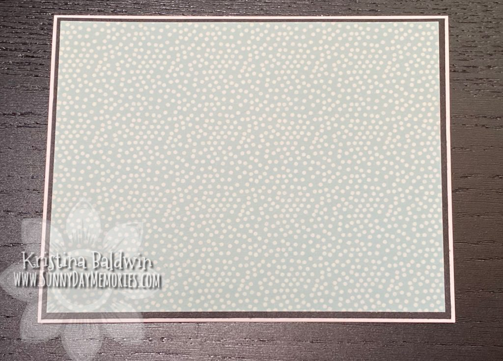 Butterfly Shaker Card Paper Layering