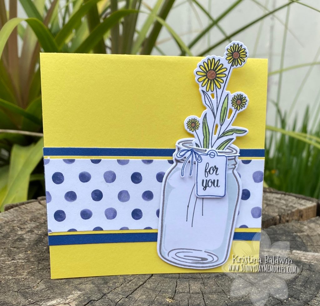 CTMH For You Mason Jar Card