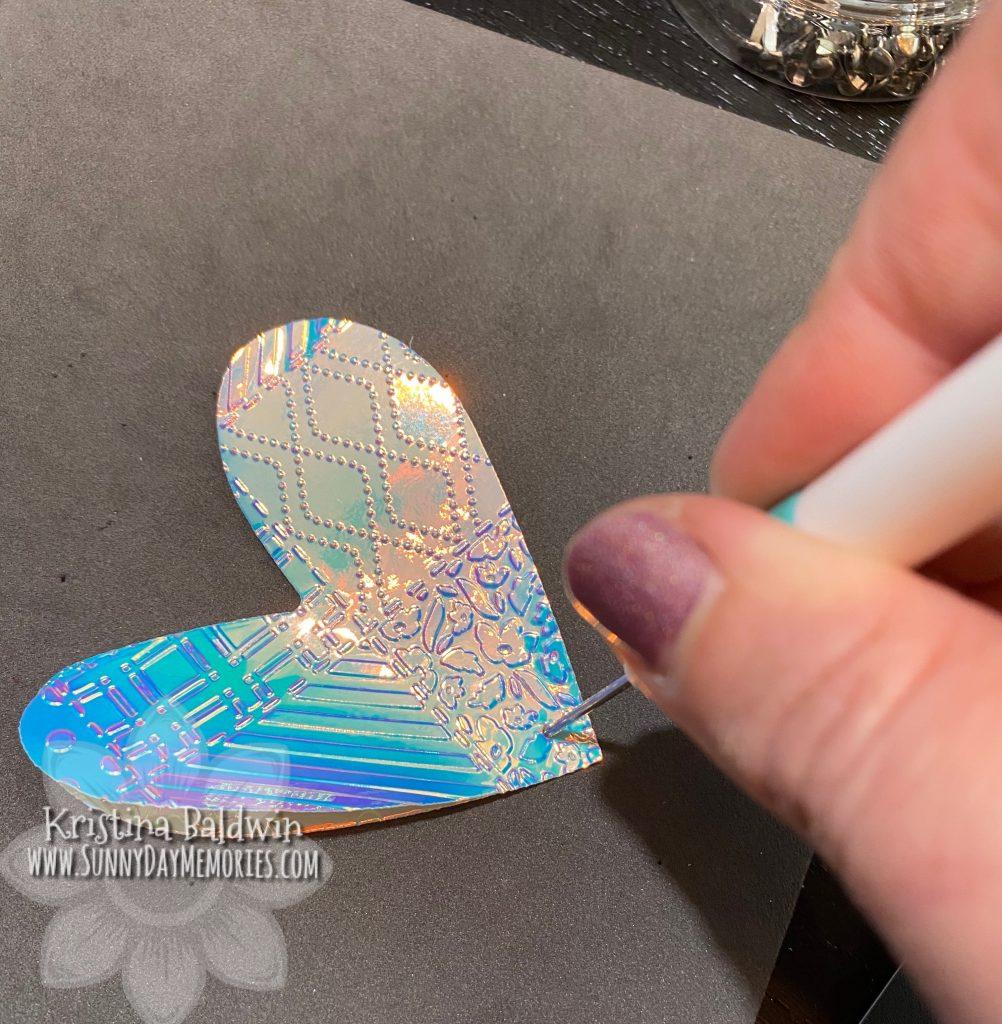 Piercing Butterfly Shaker Card Wings