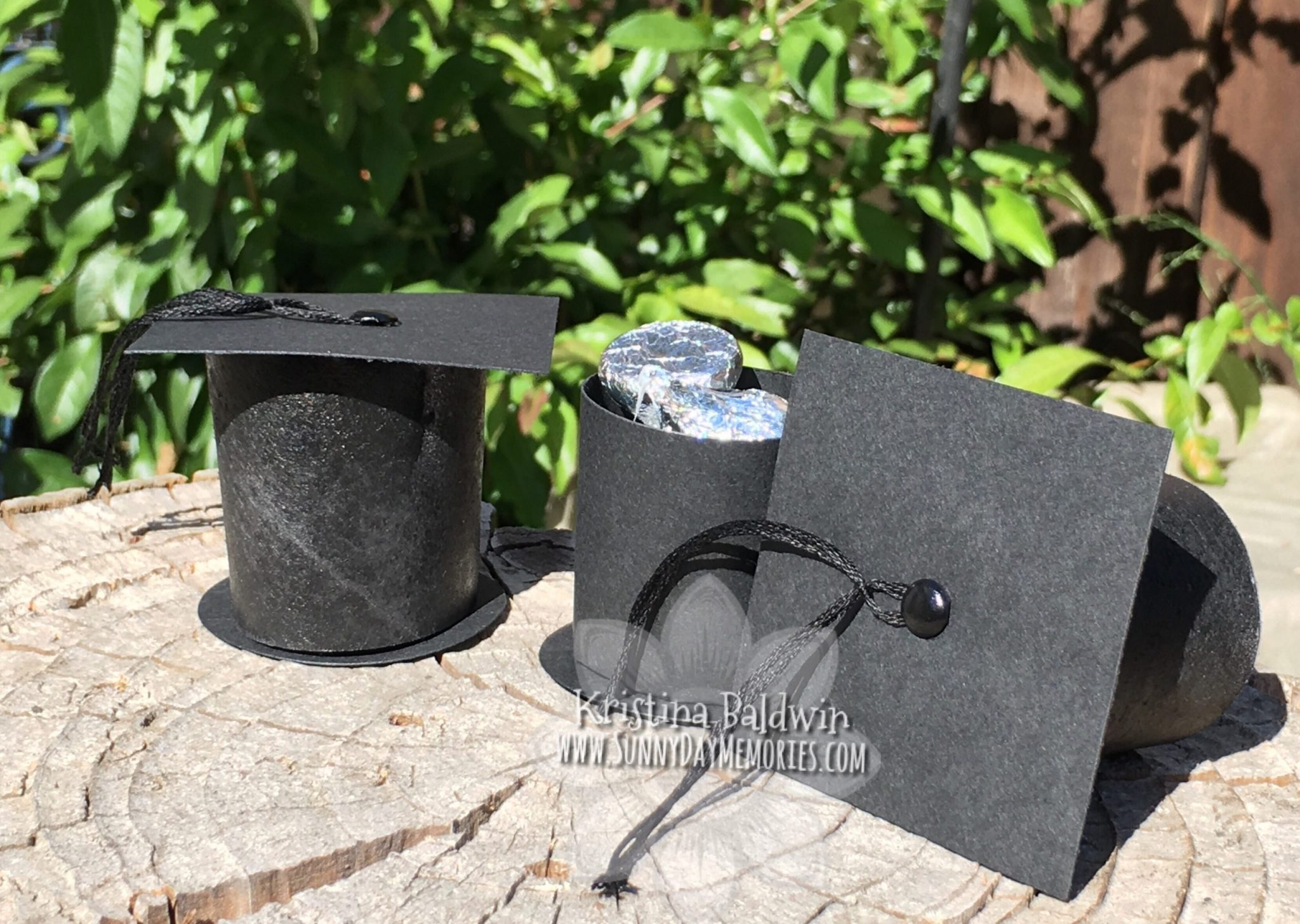 Graduation Cap Favor Boxes