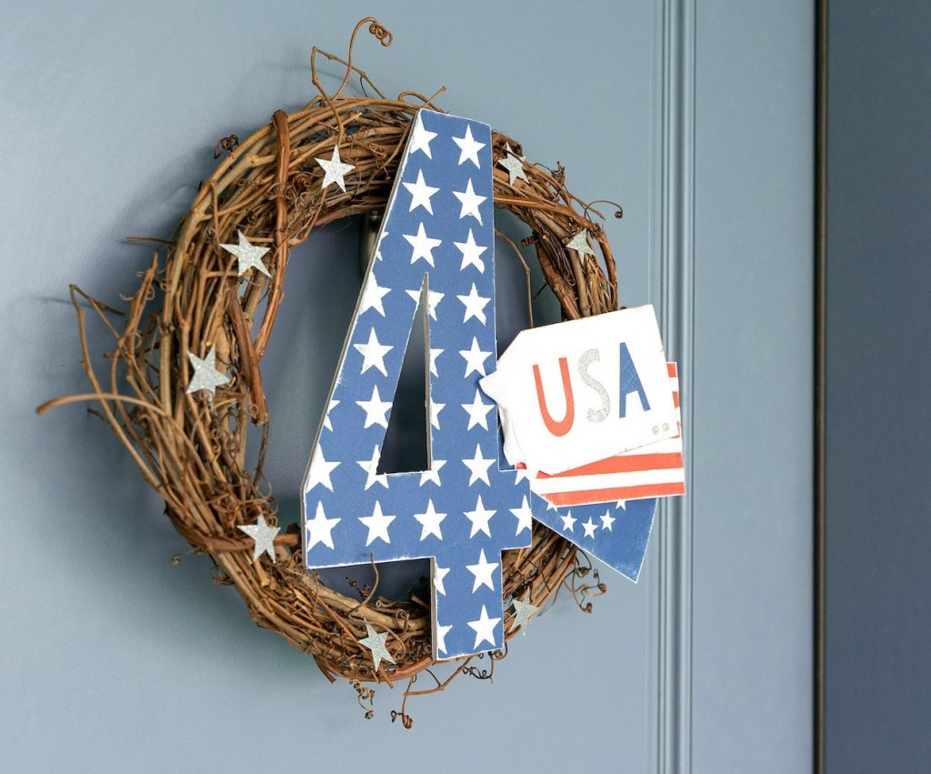 CTMH Americana Wreath