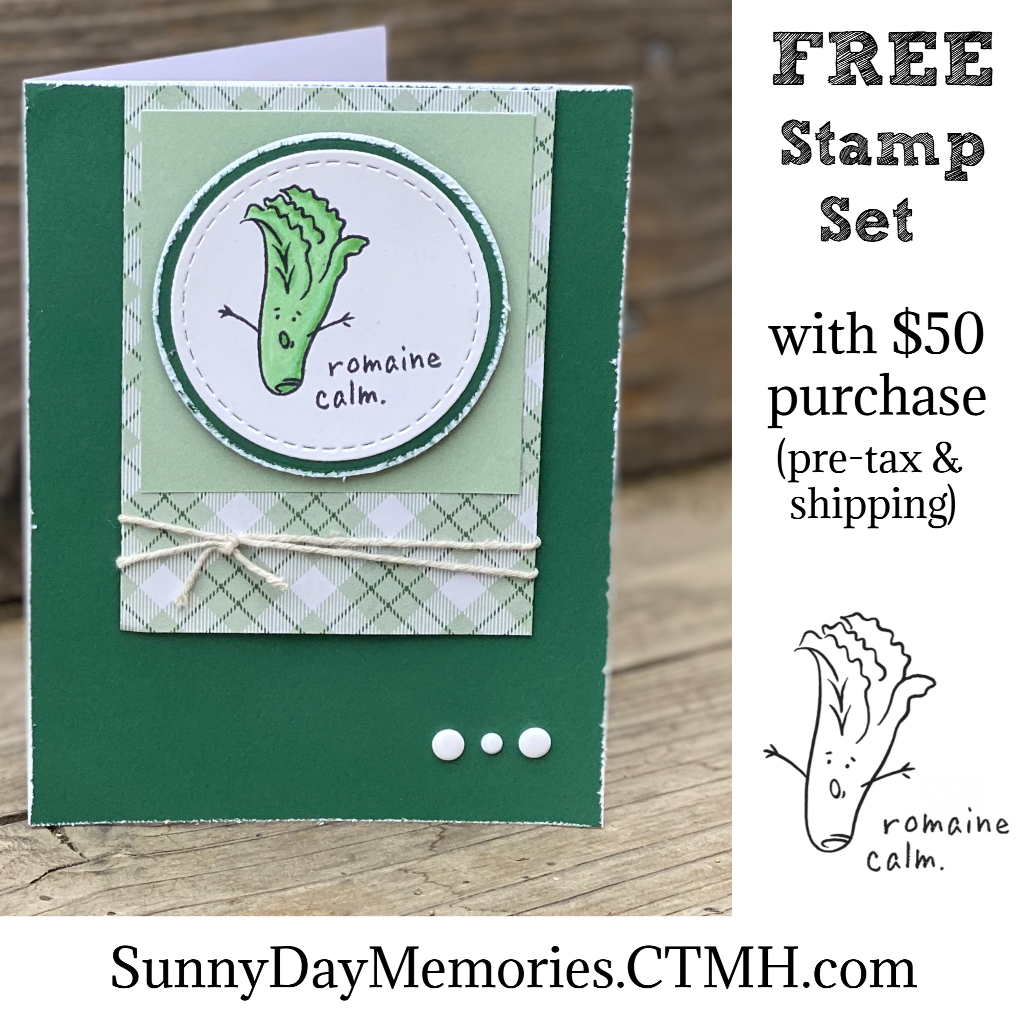 CTMH FREE Stamp Set Offer