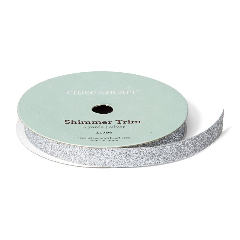CTMH Silver Shimmer Trim