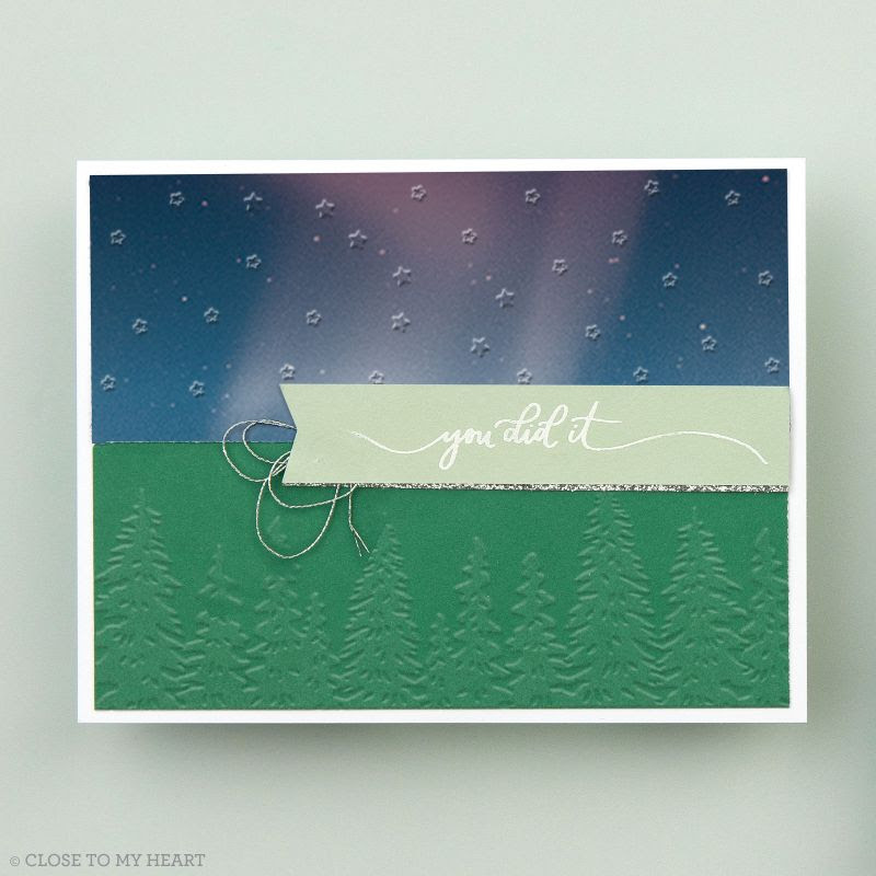Close To My Heart Wilderness Embossing Folders