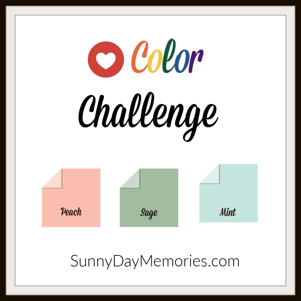 July 27, 2020 SunnyDay Memories Color Challenge