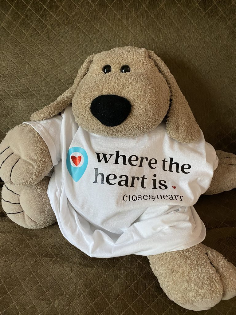 CTMH Where the Heart Is T-shirt