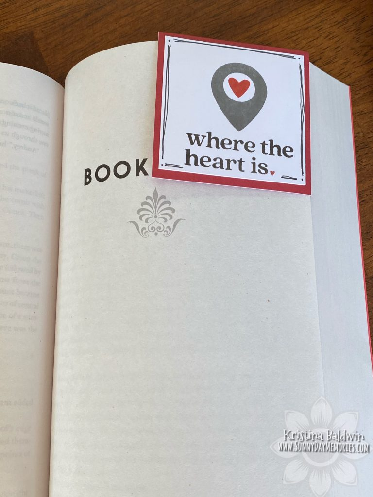 CTMH Where the Heart Is Corner Bookmark