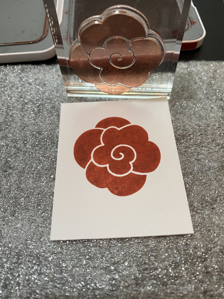 Stamping with CTMH foam cushioning
