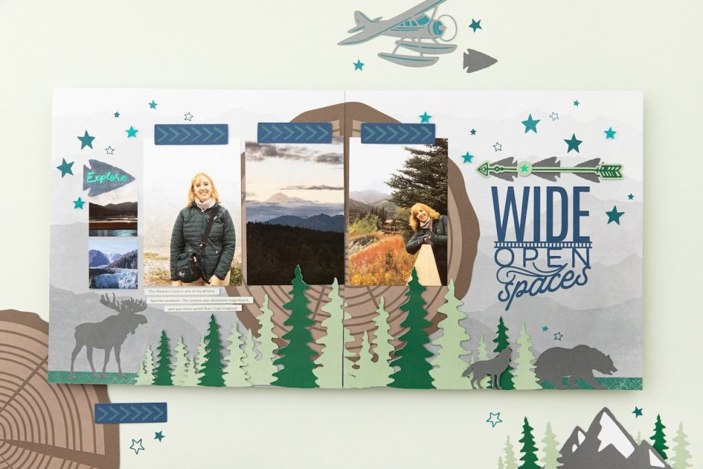 CTMH Aurora Cricut Collection Layout