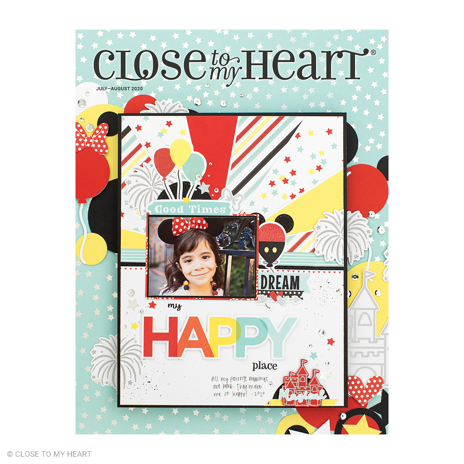 July-August Close To My Heart Catalog