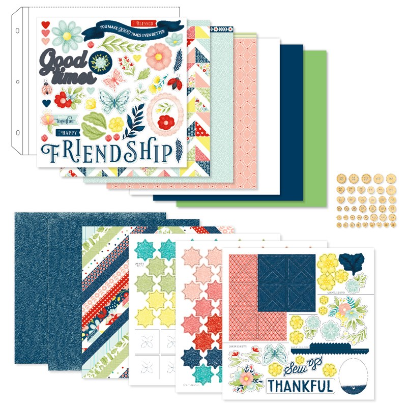 CTMH Stitched Together Scrapbooking Workshop Kit