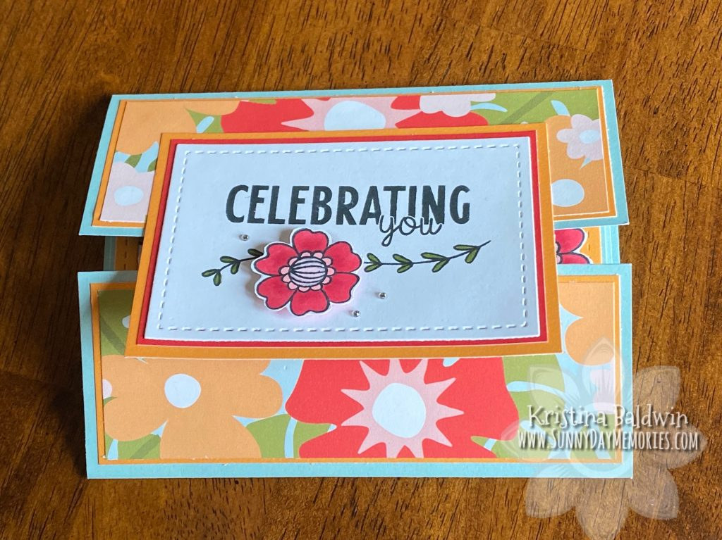 Celebrating You Gatefold Card