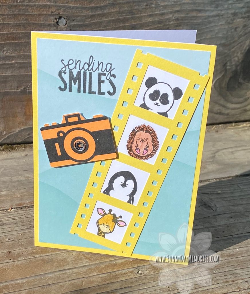 Sending Smiles Little Buddies Card