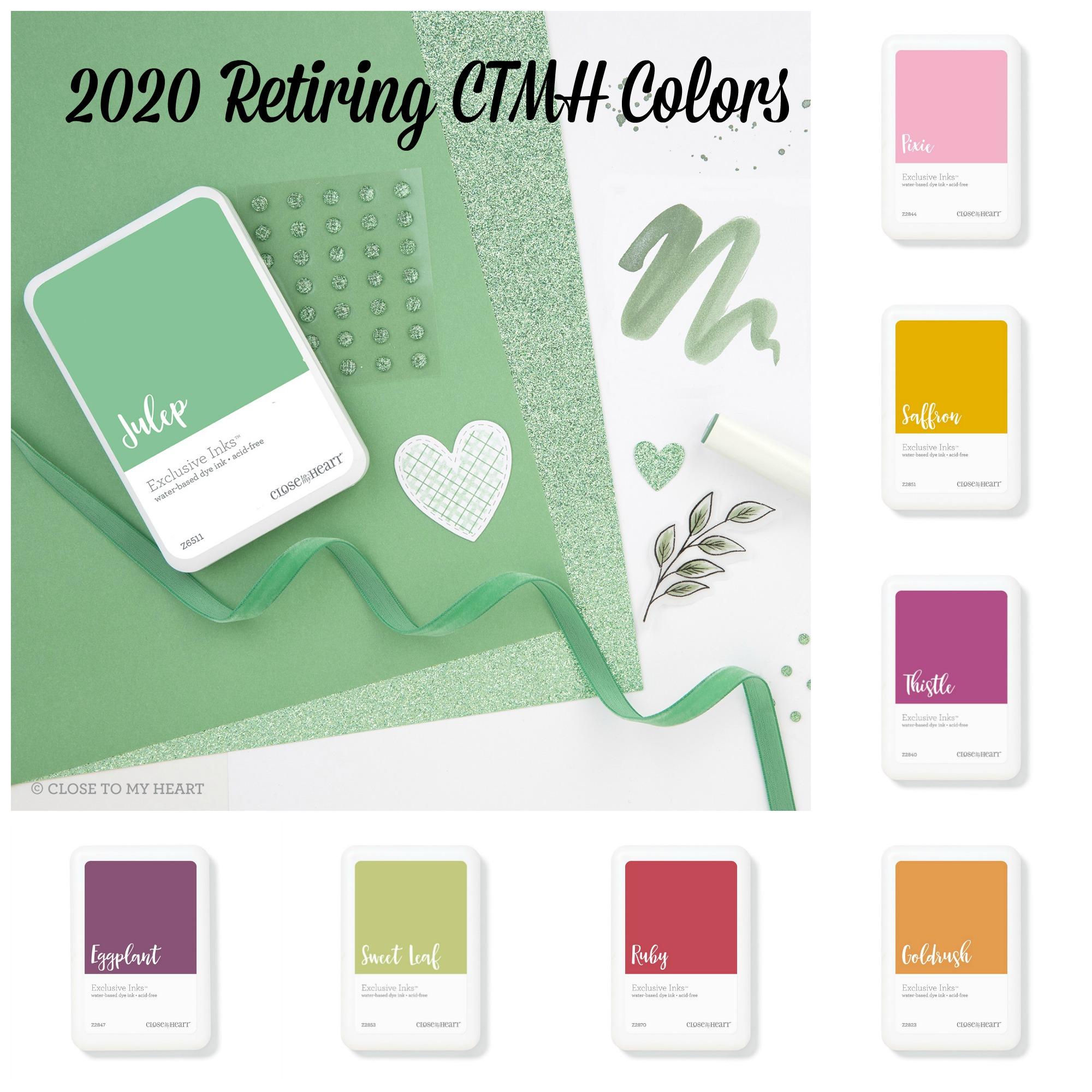 2020 Retiring CTMH Colors
