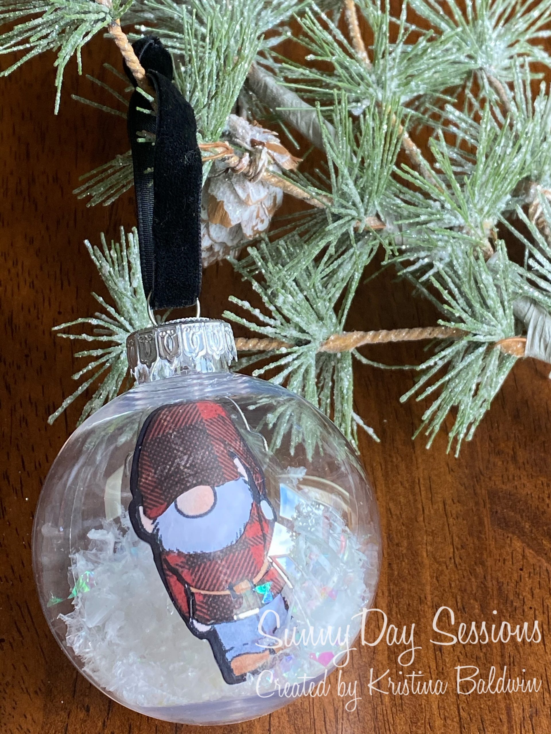 SunnyDay Sessions Ornament Project