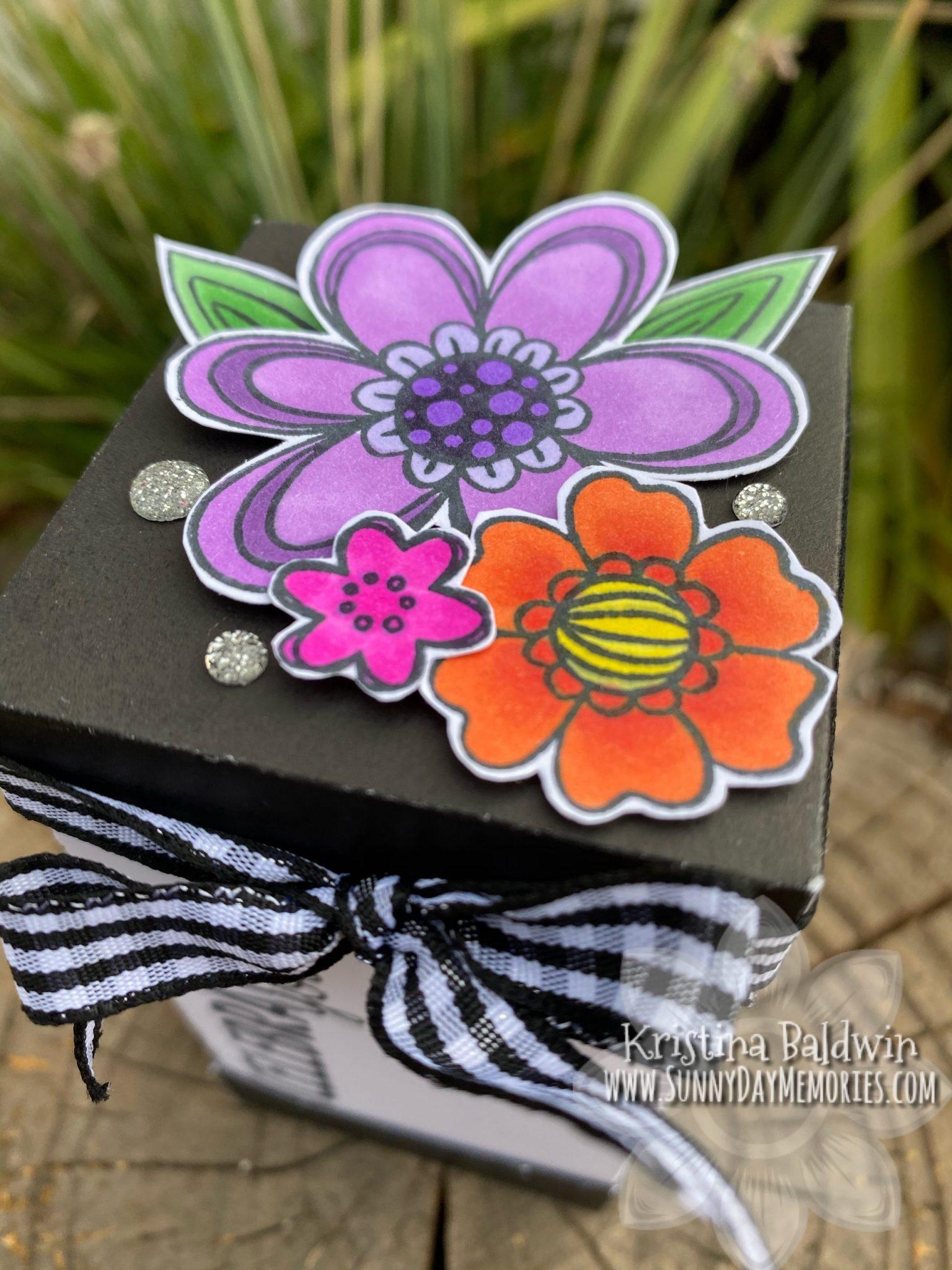 Floral Celebration Celebrating You Box Lid