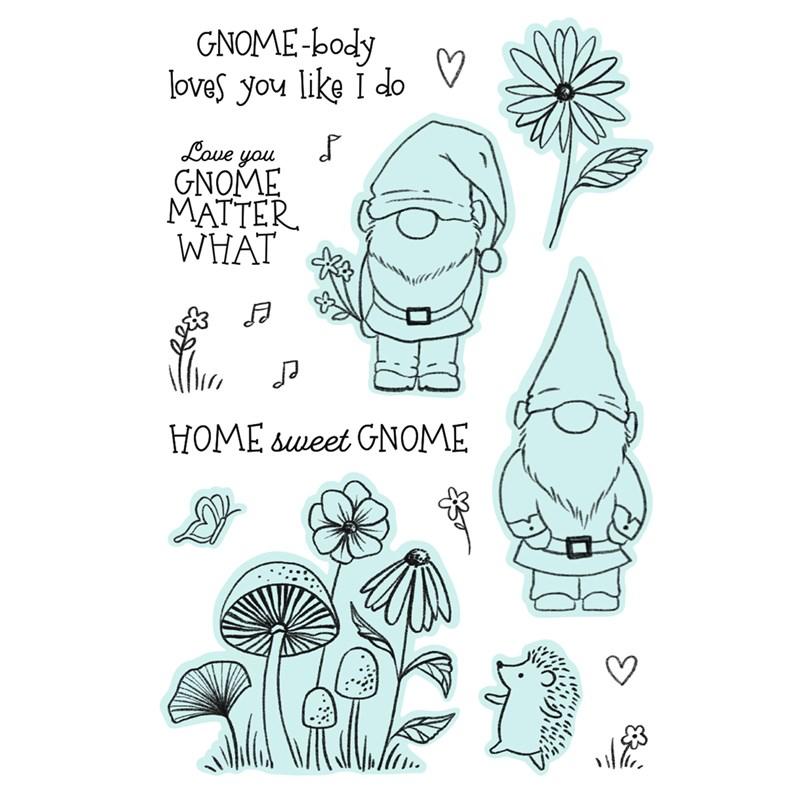CTMH Gnome Matter Stamp Set