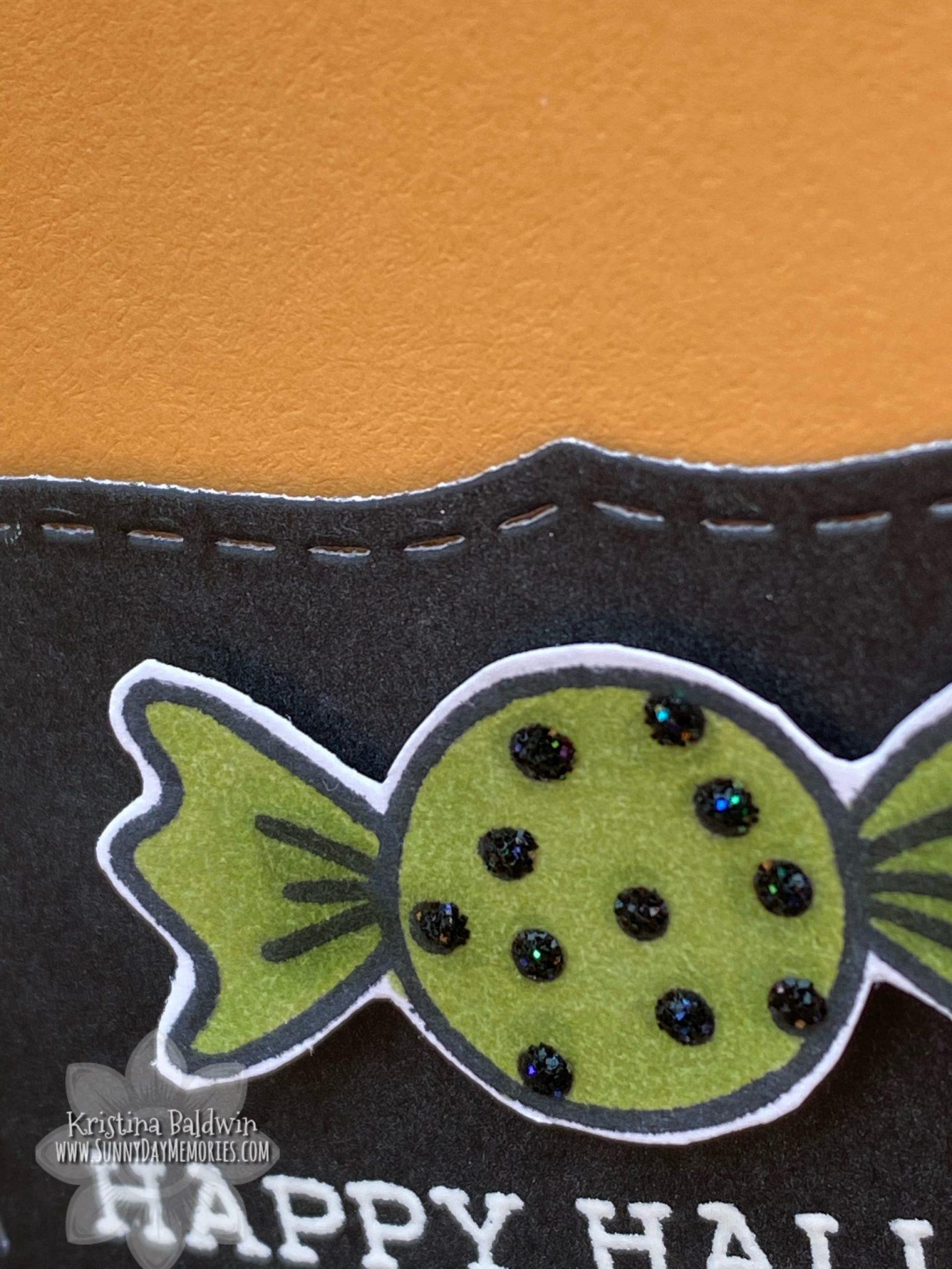 Halloween Got Candy? Card Closeup