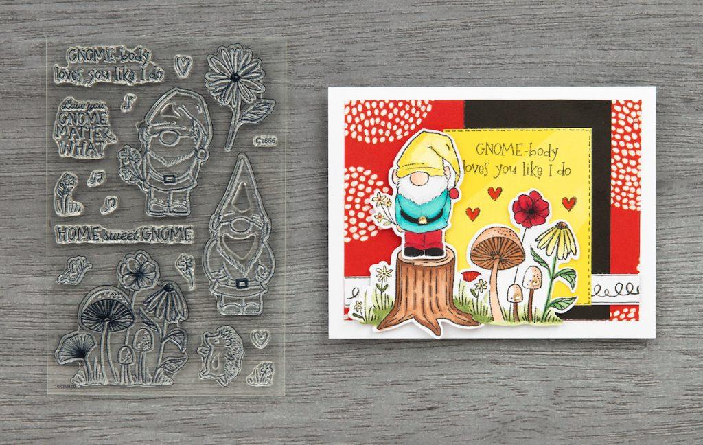 CTMH Gnomebody Loves You Like I Do Card
