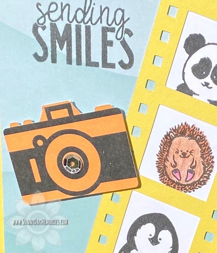 Closeup Sending Smiles Little Buddies Card