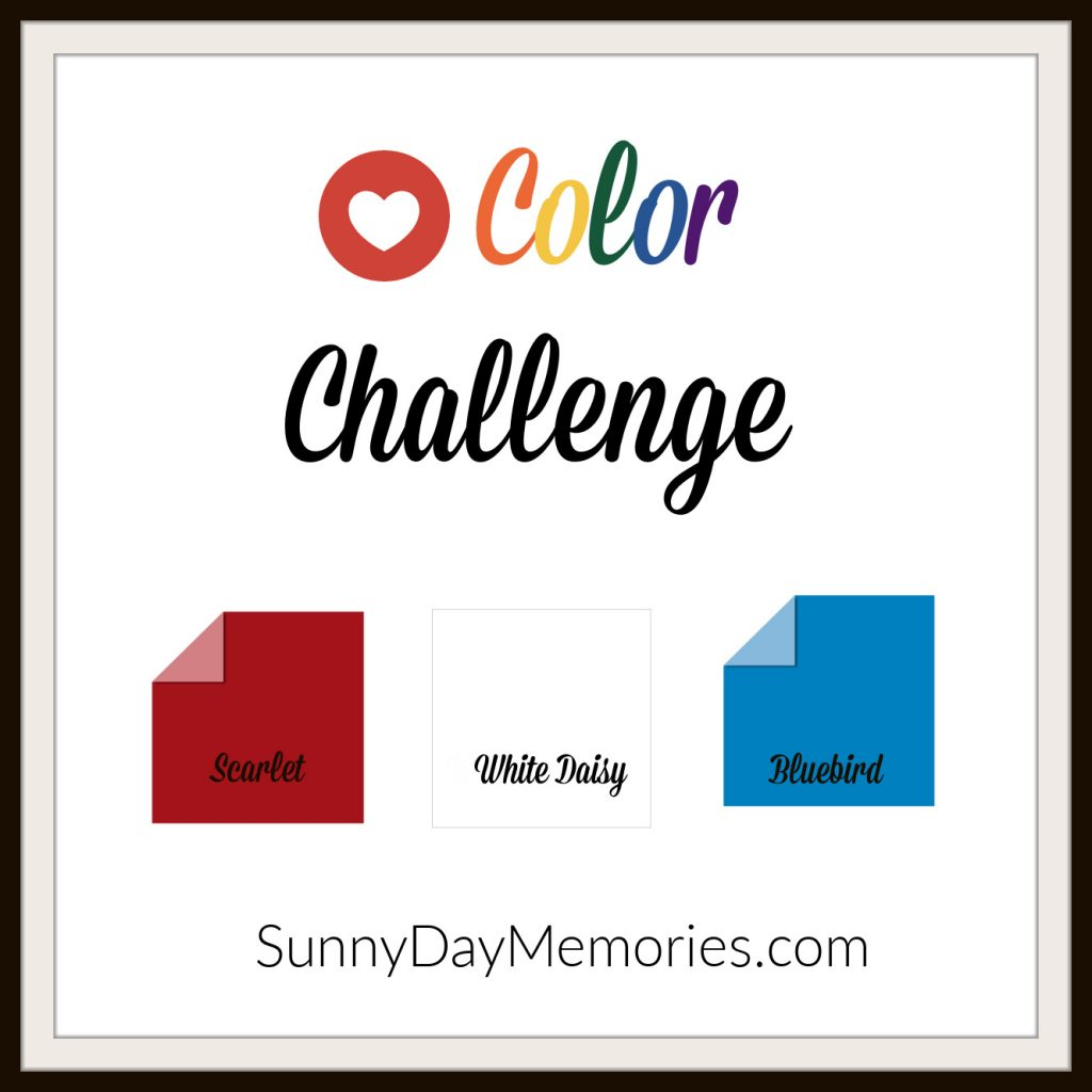 September 7, 2020 SunnyDay Memories Color Challenge