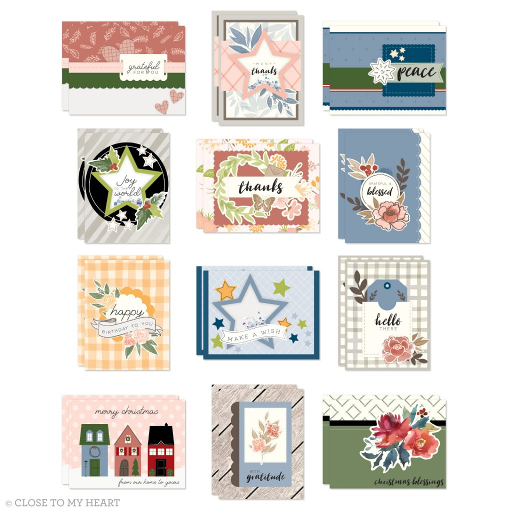CTMH Craft with Heart Card Subscription Box