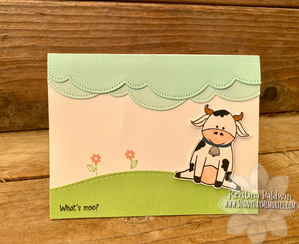 From the Funny Farm Cards What's Moo
